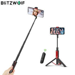 BlitzWolf BW-BS10 Tất Cả Trong Một Xách Tay Gậy Selfie Bluetooth Hidden Kẹp Điện Thoại Với Có Thể Thu Vào Chân Máy thumbnail