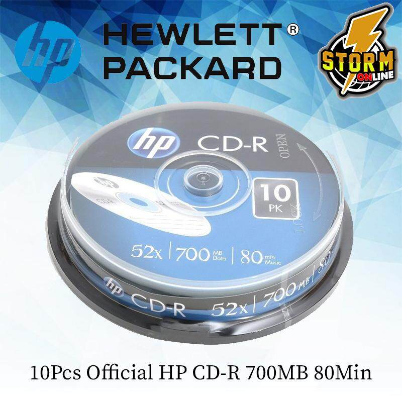HP CD-R 10PCS (BLANK DISK)