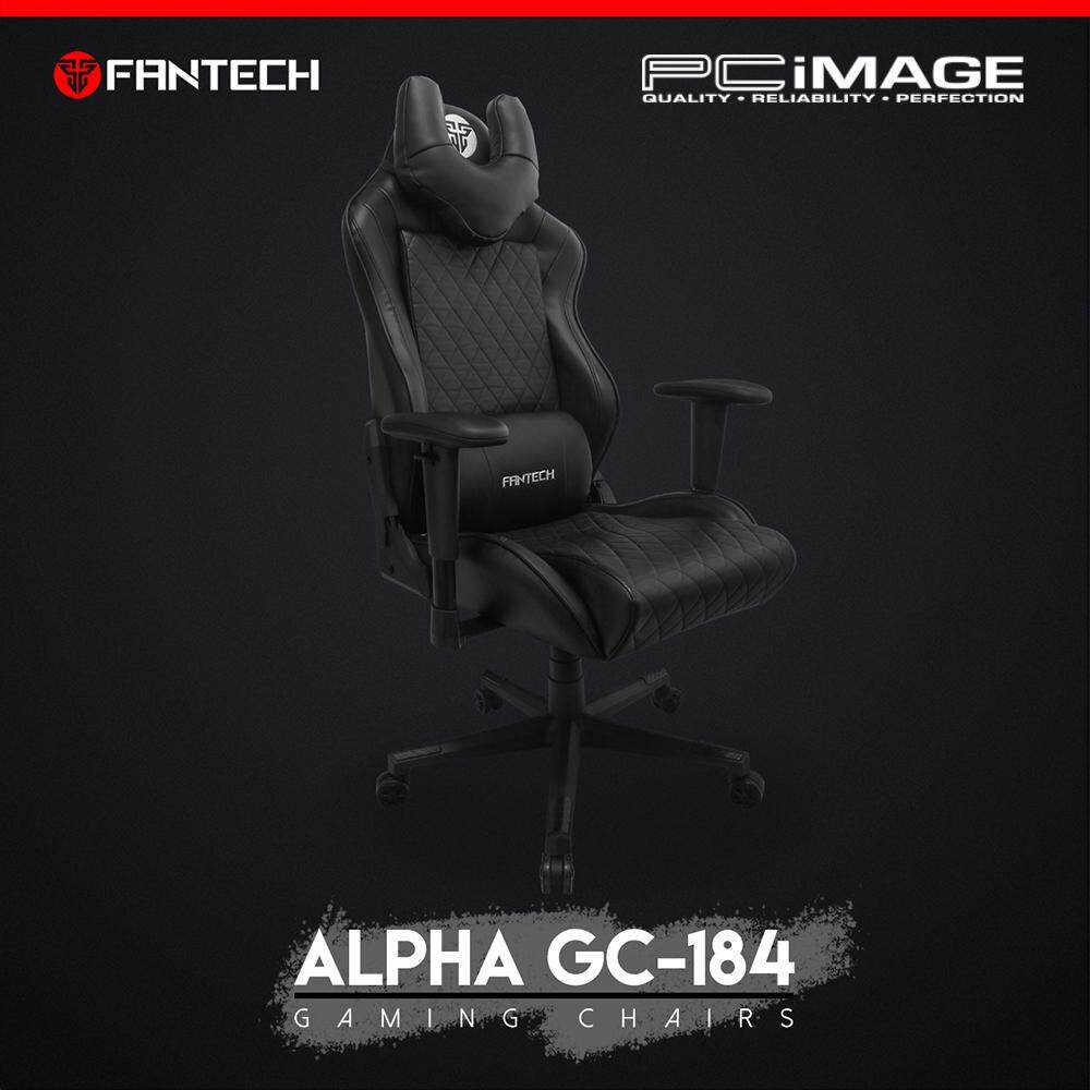 Enjoyable Fantech Alpha Gaming Chair Gc184Bk Black Spiritservingveterans Wood Chair Design Ideas Spiritservingveteransorg