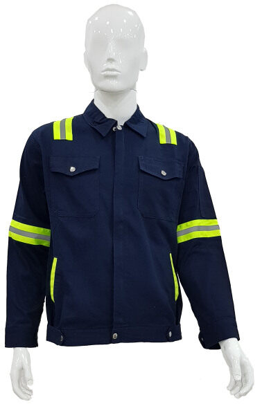 Safety Working Jacket Navy Blue Color ****Ready Stock****