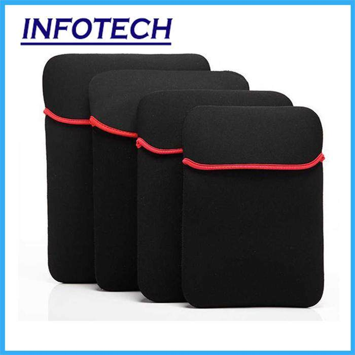 12inches ,14 Inches , 15.6 Inches Laptop Soft Case Bag Cover Sleeve Pouch Universal Notebook Sleeve By Infotech.