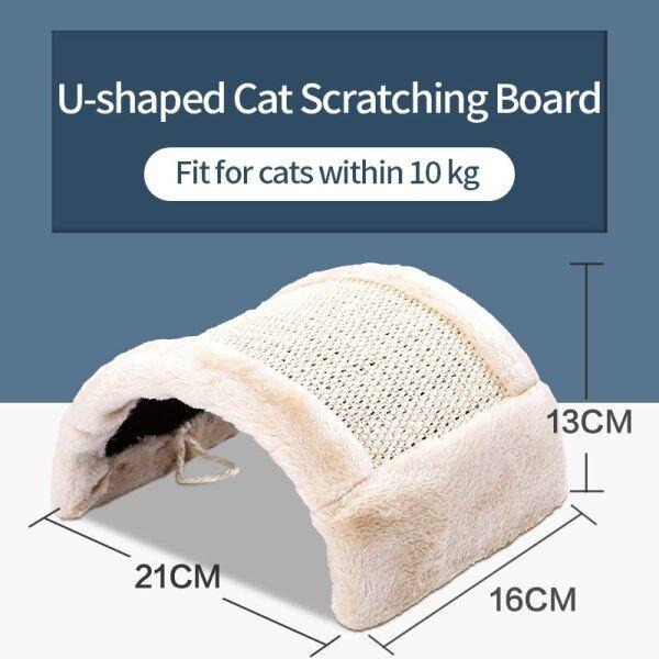Mèo Đồ Chơi Thảm Cào Bảo Vệ Mèo Trụ Cào Móng Cho Cây Mèo Dụng Cụ Cào Cho Mèo Hình Chữ U Vật Nuôi Đồ Nội Thất