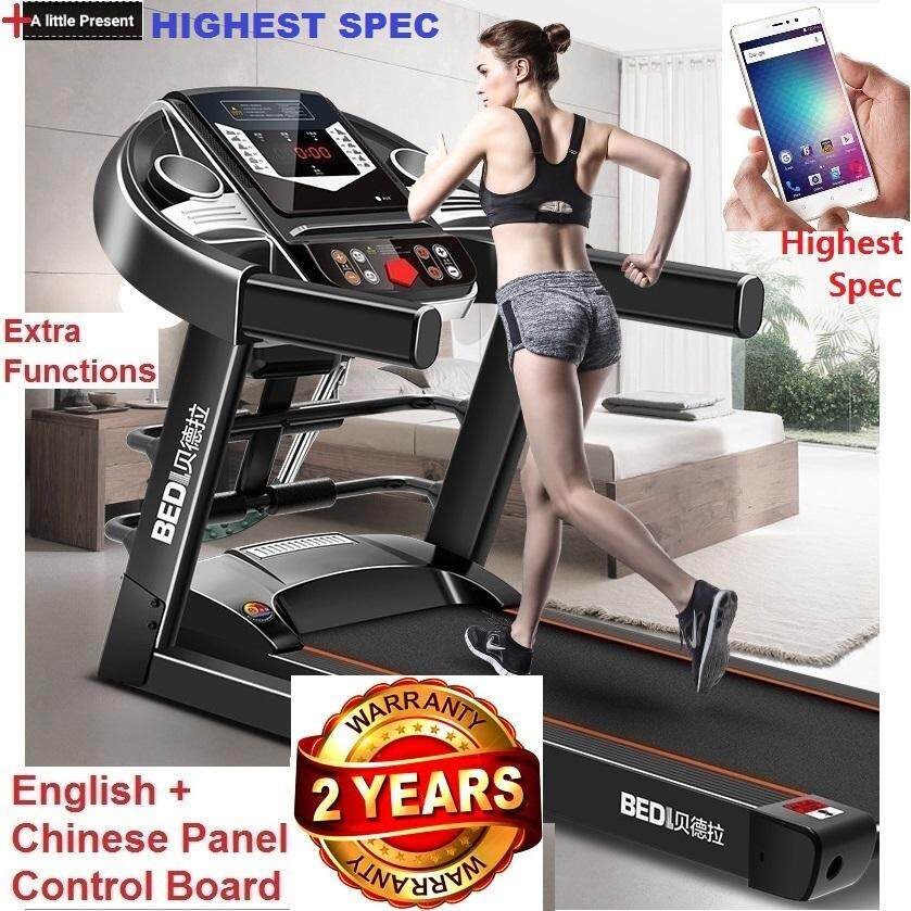 Bedl 3hp Advanced Full Set Treadmill Running Exercise Machine By Enghongexport.
