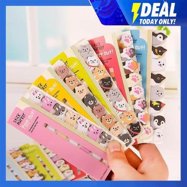 Mua Đồ Dùng Học Tập Thuận Tiện Sticker, Dễ Thương Động Vật Bookmark Memo
