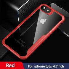 Sanptoch Chống Sốc Armor Cho iPhone 11 Pro Max XS Max XR X 8 7 6 6 S 6 S Plus Trong Suốt ốp Lưng Cho iPhone 5 5S SE Cao Cấp Ốp Lưng Silicone Cover Vỏ