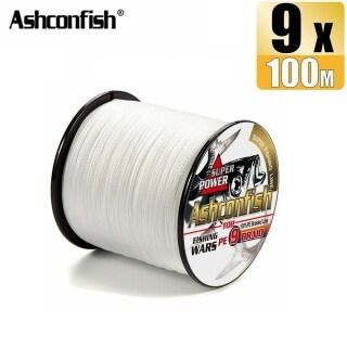 Ashconfish Dây Câu Cá Bện Trắng 100M 9 Sợi Dây PE Nhiều Sợi Jigging 15-310LB Phụ Kiện Câu Cá X9 Đủ Kích Cỡ Dụng Cụ Giải Quyết thumbnail