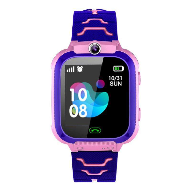 Q12 Childrens Smart Watch SOS Phone Watch Smartwatch For Kids With Sim Card Photo 9 Languages Kids Gift For IOS Android Malaysia