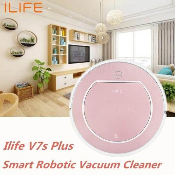 Ilife V7s Plus Smart Robotic Vacuum Cleaner Remote Control Floor Cleaning Robot(Rose gold) Singapore
