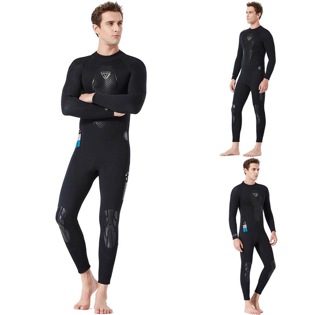 Suolede ผู้ชายรักษาความอบอุ่นป้องกันแสงแดดว่ายน้ำ, ท่องและการดำน้ำตื้นชุดคลุมทั้งตัวผู้ชายเสื้อผ้าแฟชั่นชุดออกกำลังกายชุดว่ายน้ำชุดกีฬากางเกงขาสั้นว่ายน้ำชายหาดดำน้ำ By Suolede.