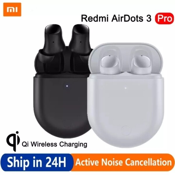 Xiaomi Redmi AirDots 3 Pro Bluetooth Earbuds Mi TWS Headset with Qi Wireless Charging 35dB Active Noise Cancellation Earphone Singapore