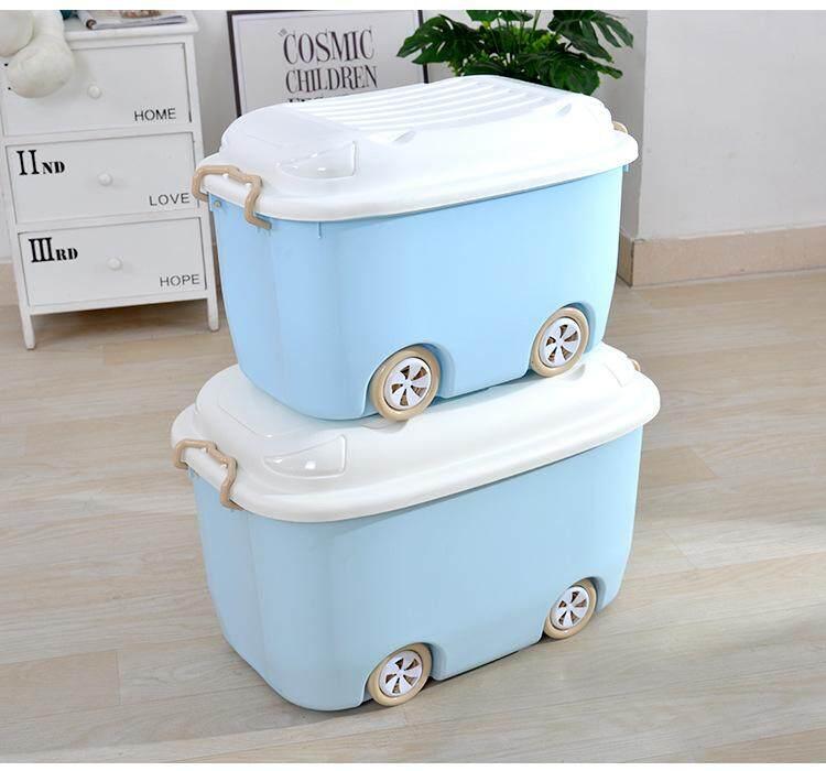 Cartoon toy storage box plastic childrens clothes roller skating storage box toy box