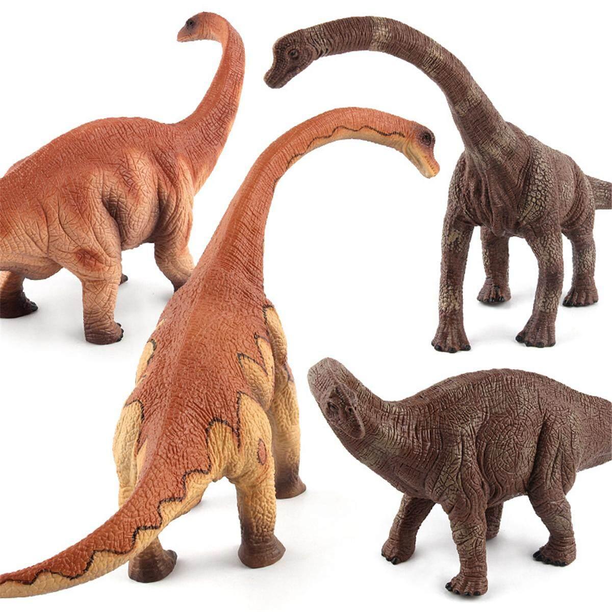 2018 Large Brachiosaurus Dinosaur Toy Realistic Solid Plastic Model GIFT to Kids