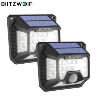 BW-OLT3 BlitzWolf Đèn Năng Lượng Mặt Trời Ngoài Trời, Đèn Tường Chống Nước Góc Rộng Cảm Biến PIR 32 LED 120 Dành Cho Đèn An Ninh Sân Vườn thumbnail