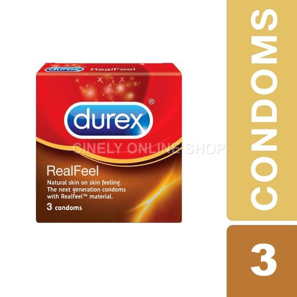 Durex Real Feel Condoms 3pcs (100% ORIGINAL DUREX PRODUCTS)