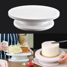 Đế giữ bánh để trang trí có thể xoay được bằng chất liệu PP – INTL