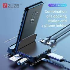 [(12.12) USB Loại C HUB Đế cắm USB-C sang HDMI Dock Điện