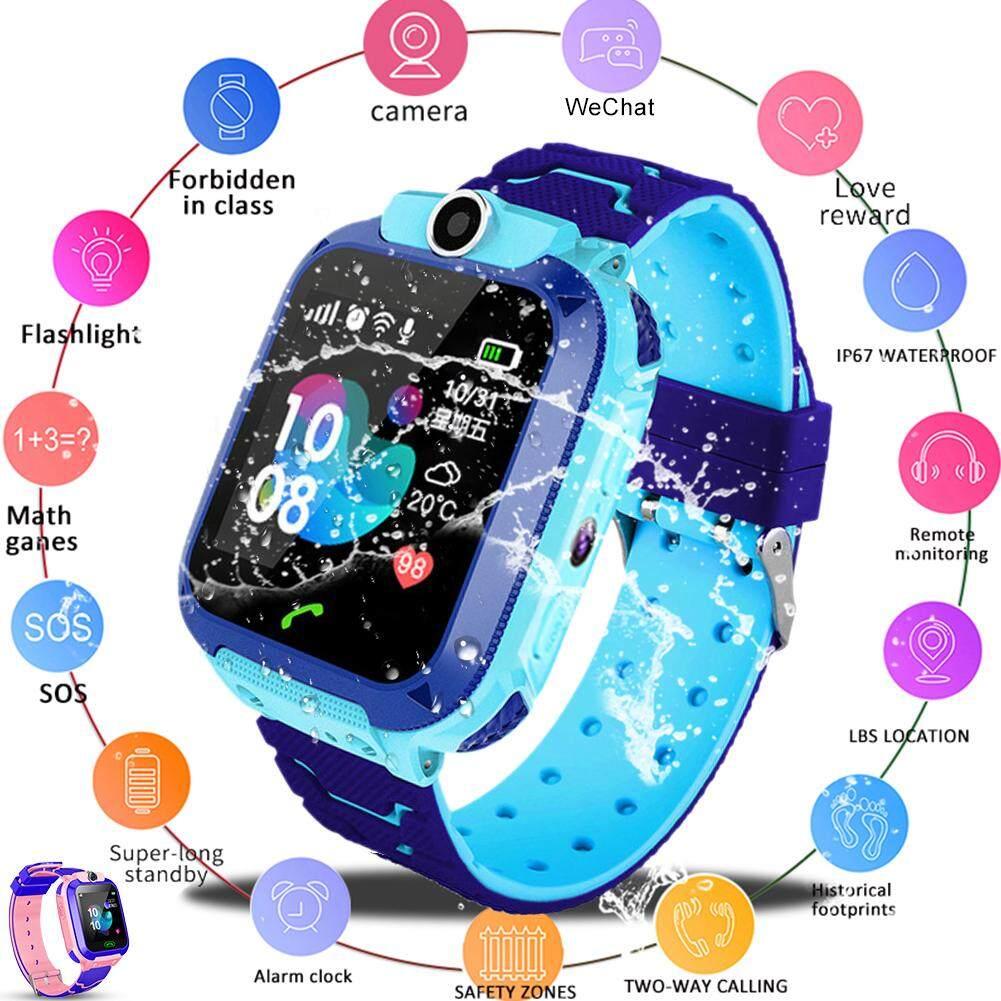 BĂNG Q12B Trẻ Em của Đồng Hồ Thông Minh Android Nhét Card 2G Chống Nước Từ Xa Định Vị GPS Định Vị Camera Gọi Chống mất Tay Thông Minh dành cho Trẻ Em bán chạy