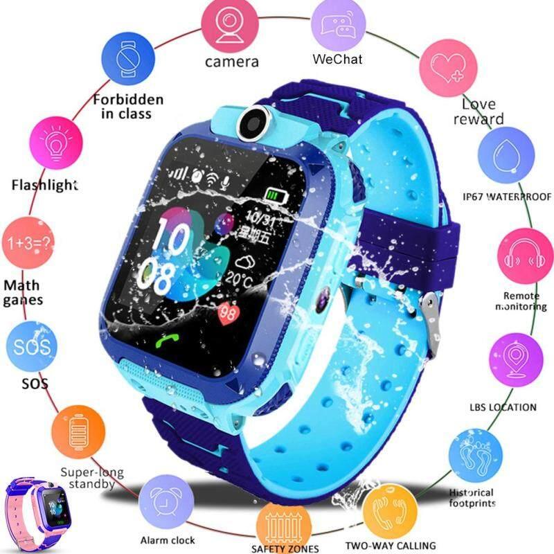 Nơi bán BĂNG Q12B Trẻ Em của Đồng Hồ Thông Minh Android Nhét Card 2G Chống Nước Từ Xa Định Vị GPS Định Vị Camera Gọi Chống mất Tay Thông Minh dành cho Trẻ Em
