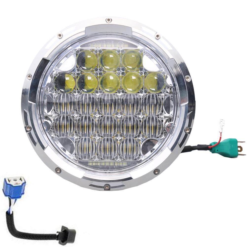 75 W 5D Lensa Lampu LED 7 Inch untuk JEEP Wrangler untuk Harley Motor