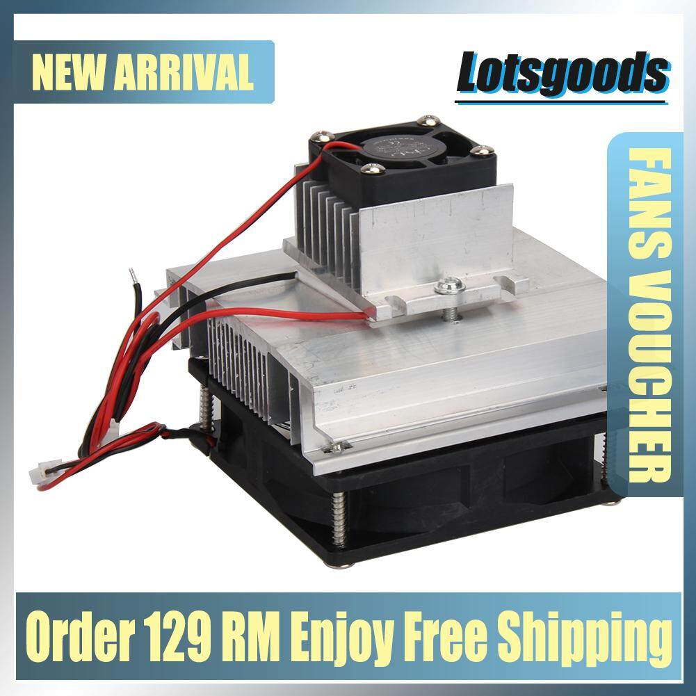{9.9 Hot Sale Festival}DIY Thermoelectric Peltier Refrigeration Cooling System Kit Cooler Malaysia