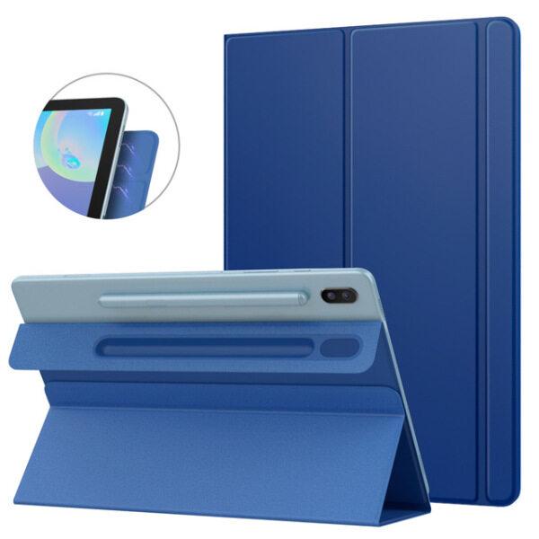Bảng giá Ốp Thông Minh Folio Cho Samsung Galaxy Tab S6 10.5 2019, Ốp Đứng Vỏ Thông Minh Mỏng Nhẹ, Hấp Thụ Từ Tính Mạnh Cho Tab Phong Vũ