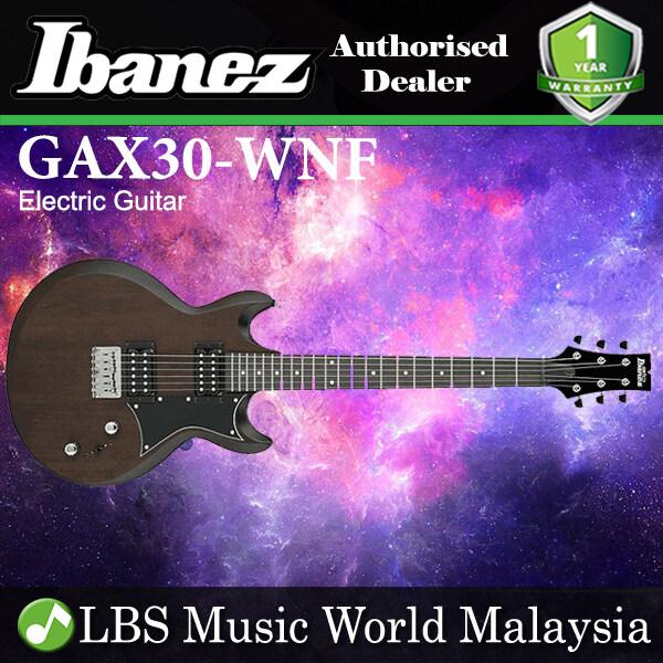 Ibanez GAX30 -WNF Poplar Solid Body Electric Guitar Walnut Flat (GAX30 WNF) Malaysia