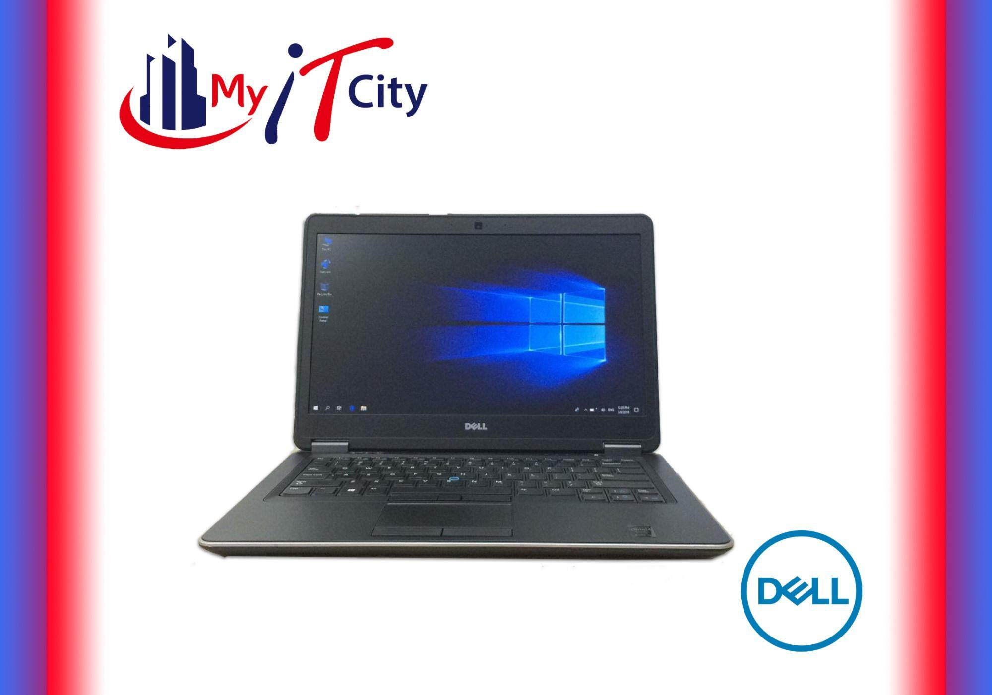 Dell Latitude E7440 Ultrabook - Core i5 4th Gen / 4GB RAM / 256GB SSD / Windows 10 Pro / 3 Months Warranty (Refurbished) Malaysia