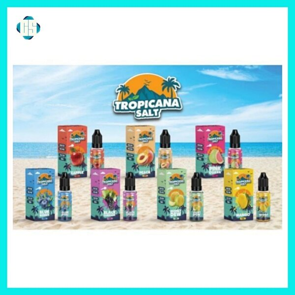 Tropicana Salt Blueberry Ice / Mango Ice / Blackcurrant Ice / Honeydew Ice / Pink Guava Ice / Zapple Ice / Peach Ice Vape E-Juice 15ml ejuice Malaysia