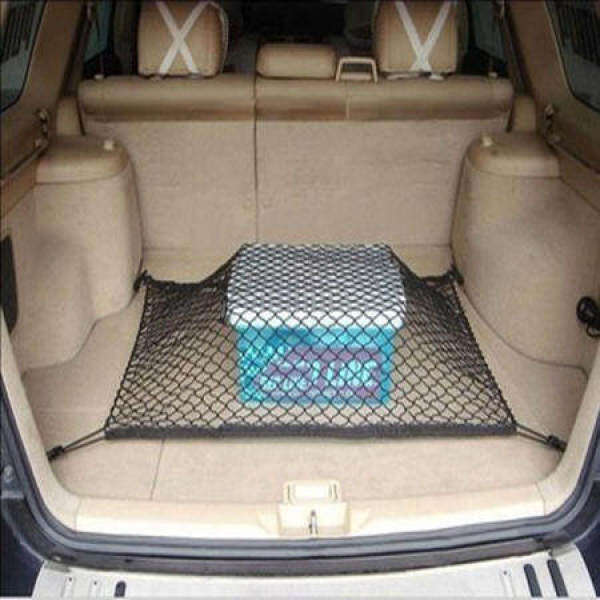 Car Backup Tail Box Velcro Net Pocket Seat Hanging Storage Bag Storage Container for Cars Storage Product Fire Extinguisher Fixed