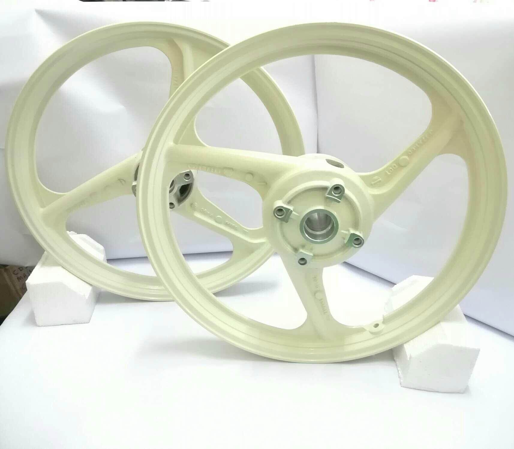 [ Enkei Fullcop ]sport Rim Y125zr / Lc 5speed (milk White) By B.s Motor Centre.