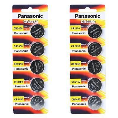 Panasonic CR2450 Lithium Battery (1pc pack)