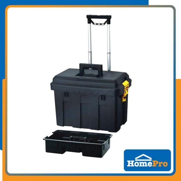 HOMEPRO HUALEI TOOL BOX WHEEL TRANSFORMER HL3042-G W62xD44xH44.5 CM BLACK