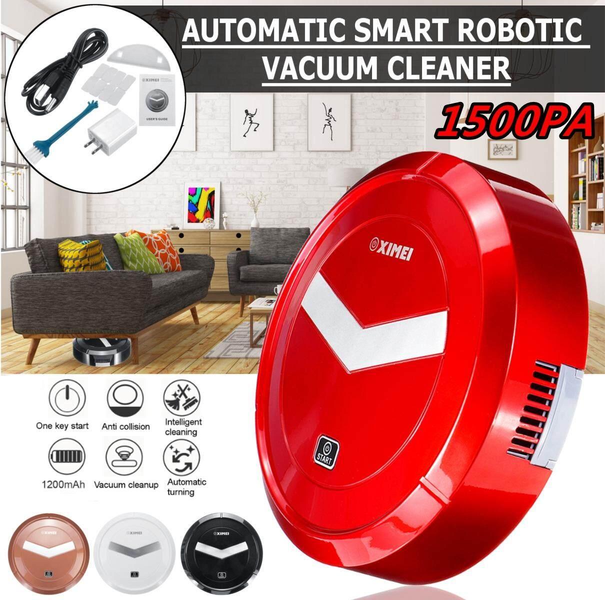 【free Pengiriman + Flash Deal】automatic Smart Robot Penghisap Debu Isi Ulang Hisap Kuat Menghindari Tabrakan By Elec Mall.