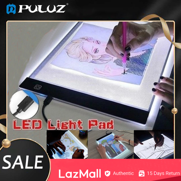 PULUZ  A4 LED Drawing Tablet Digital Graphics Pad USB LED Light Box Copy Board Electronic Art Graphic Painting Writing Table