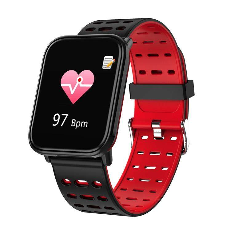 Binssaw 2018 New Women Men Watch Sport Waterproof Blood Pressure Heart Rate Monitor Smartwatch Fitness Tracker Pedometer Watch Men's Watches Digital Watches