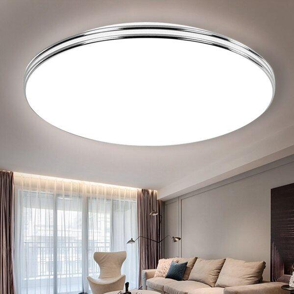 Đèn LED Ốp Trần Hiện Đại 72W 36W 24W 18W 220V Led Đèn Trần Cho Phòng Khách Gắn Bề Mặt Led Đèn Trần Siêu Mỏng