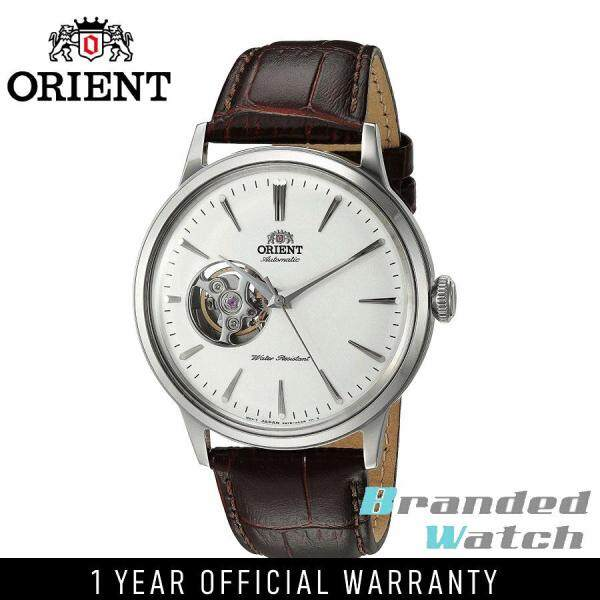 Orient RAAG0002S Man Classic Bambino Open Heart Automatic Stainless Steel Leather Strap Watch RA-AG0002S AG0002S Malaysia