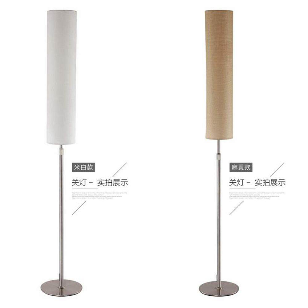 Logs Simple Personality Nordic Creative Floor Lamp for Bedroom Study Living Room Hotel Room