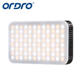ORDRO SL-80S Đèn Quay Video Đèn LED Trên Máy Ảnh, LED Ánh Sáng Đèn Đèn Lấp Đầy Cầm Tay Mini Cho Máy Quay DSLR Chụp Ảnh thumbnail
