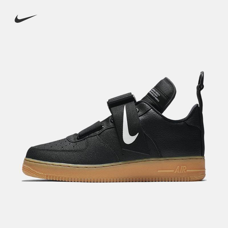 promo code bb50f 4f295 Nike Air Force 1 Men s Skateboard Shoes Breathable Shock Absorbing Non-slip  Wear-resistant