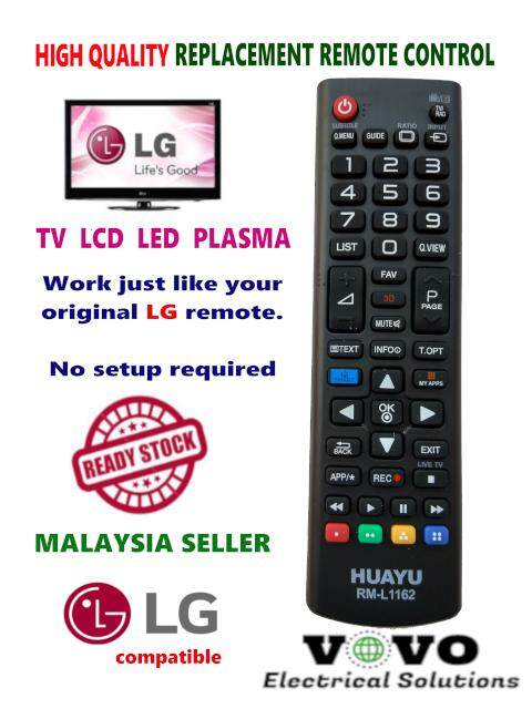 LG TV Replacement Remote Control with Smart / 3D support