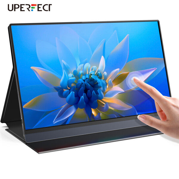UPERFECT  [Local delivery]   Battery Monitor Touch screen with HDMI / Type-C , 15.6 Inch IPS HDR 1080P FHD USB C  Monitor Built-in 10800mAh Battery & Quad Speaker, Eye Care ,including protective cover Malaysia