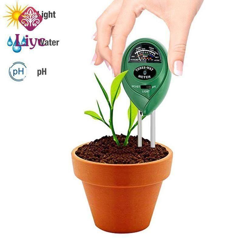 Liyc new arrival Light 3 in1 Plant Flowers Analyzer pointer Soil PH Meter Tester Moisture Hygrometer