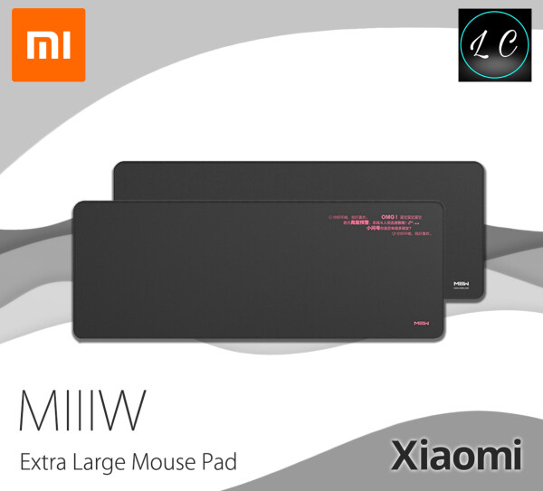 Xiaomi Youpin Original MIIIW Extra large Gaming Mouse Pad Rubber Keyboard Anti-skid Soft Mausepad For Laptop PC Malaysia