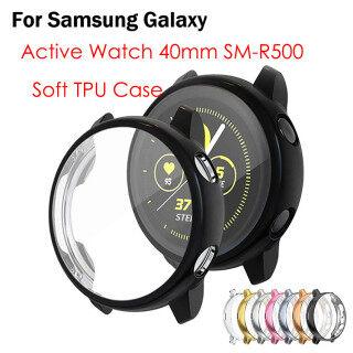 Tương Thích Cho Samsung Galaxy Đồng Hồ Hoạt Động 40 Mm Trường Hợp Ốp Viền Mềm Bằng Nhựa TPU Đầy Đủ Xung Quanh Miếng Bảo Vệ Màn Hình Galaxy Đồng Hồ Hoạt Động 40 Mm SM-R500 thumbnail