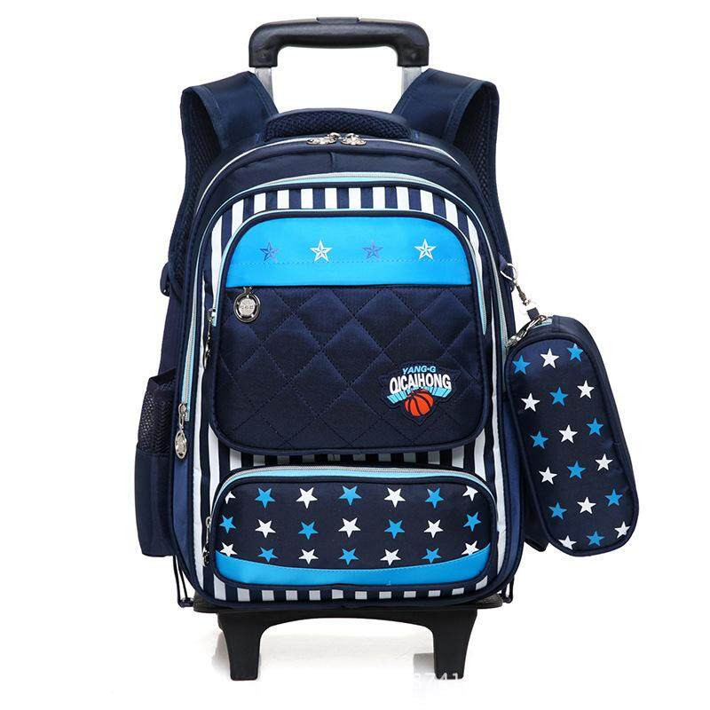 Giá bán Tension pole schoolbag boy primary school students 6 years old 3 years old shoulder backpack shoulder backpack