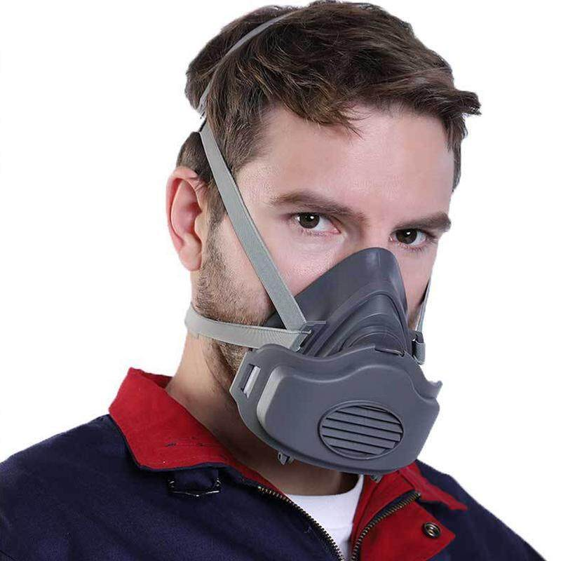 OrzBuy Dust Respirator Mask Half Face With Adjustable Strap Suitable for decoration Pesticide spray Spray paint Chemical operation Laboratory Smog weather
