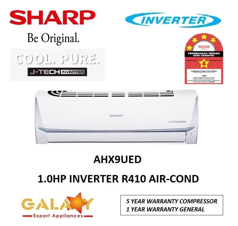 SHARP AHX9UED / AHX-9UED - 1 0HP FULL INVERTER R410A J-TECH INVERTER AIR  CONDITIONER