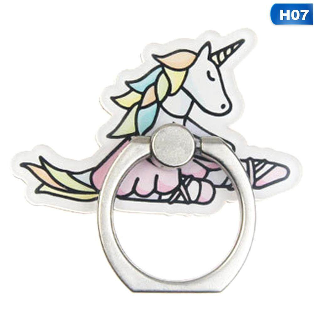 Mobile Phone Holders & Stands Mobile Phone Stand Holder Unicorn Finger Ring Mobile Smartphone Holder Stand For Iphone Xiaomi Huawei All Phone