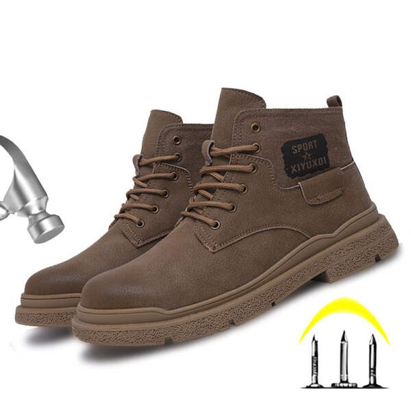 RTWE Safety Shoes with Steel Cap and Steel Sole Low Cut with(Size EU36~46) Man and Woman